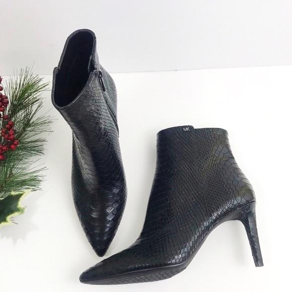 MICHAEL Michael Kors Viera Bootie High Heel Ankle Boots